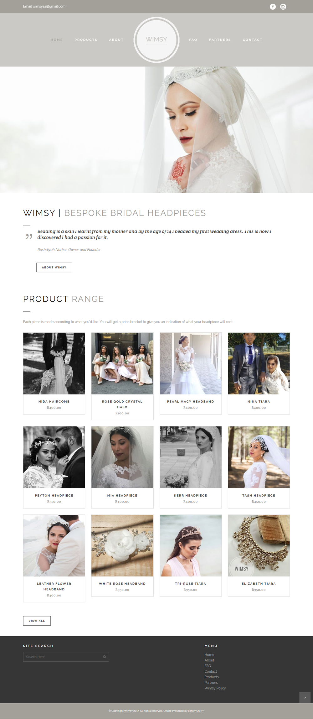 Wimsy Web Design - lightlyfunky™ - Website Portfolio