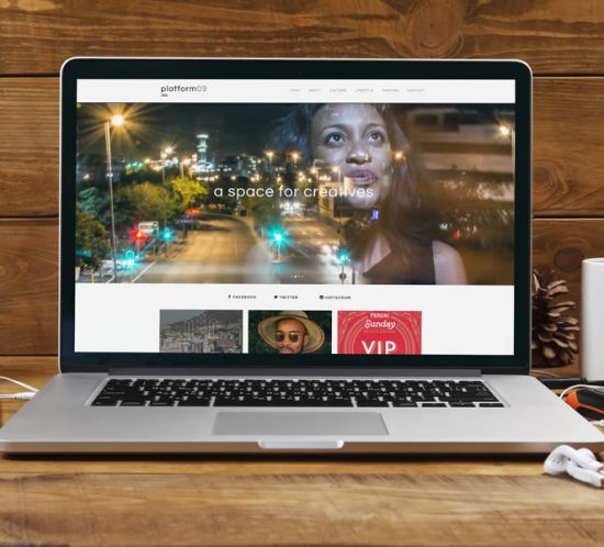 Platform09 Website Design - lightlyfunky™ Portfolio