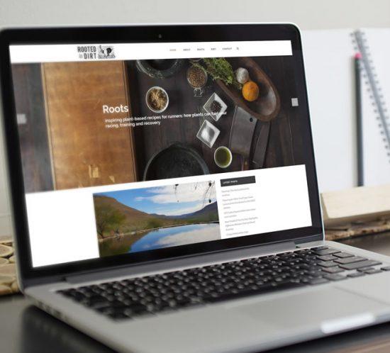 Rooted in dirt web development - lightlyfunky™ - Website Portfolio