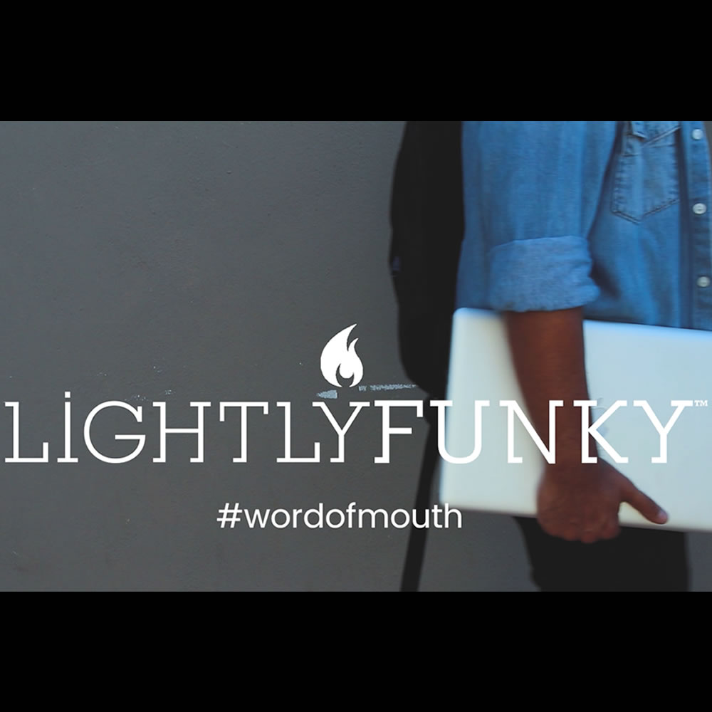 lightlyfunky™ Web Design - Cape Town - Word of mouth