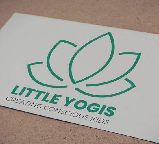 Little Yogis branding - lightlyfunky™ Portfolio
