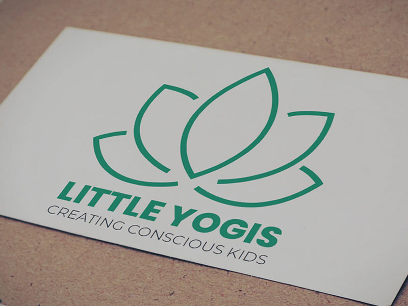 Little Yogis branding - lightlyfunky™ Portfolio