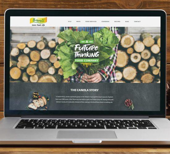 B-well Foods website
